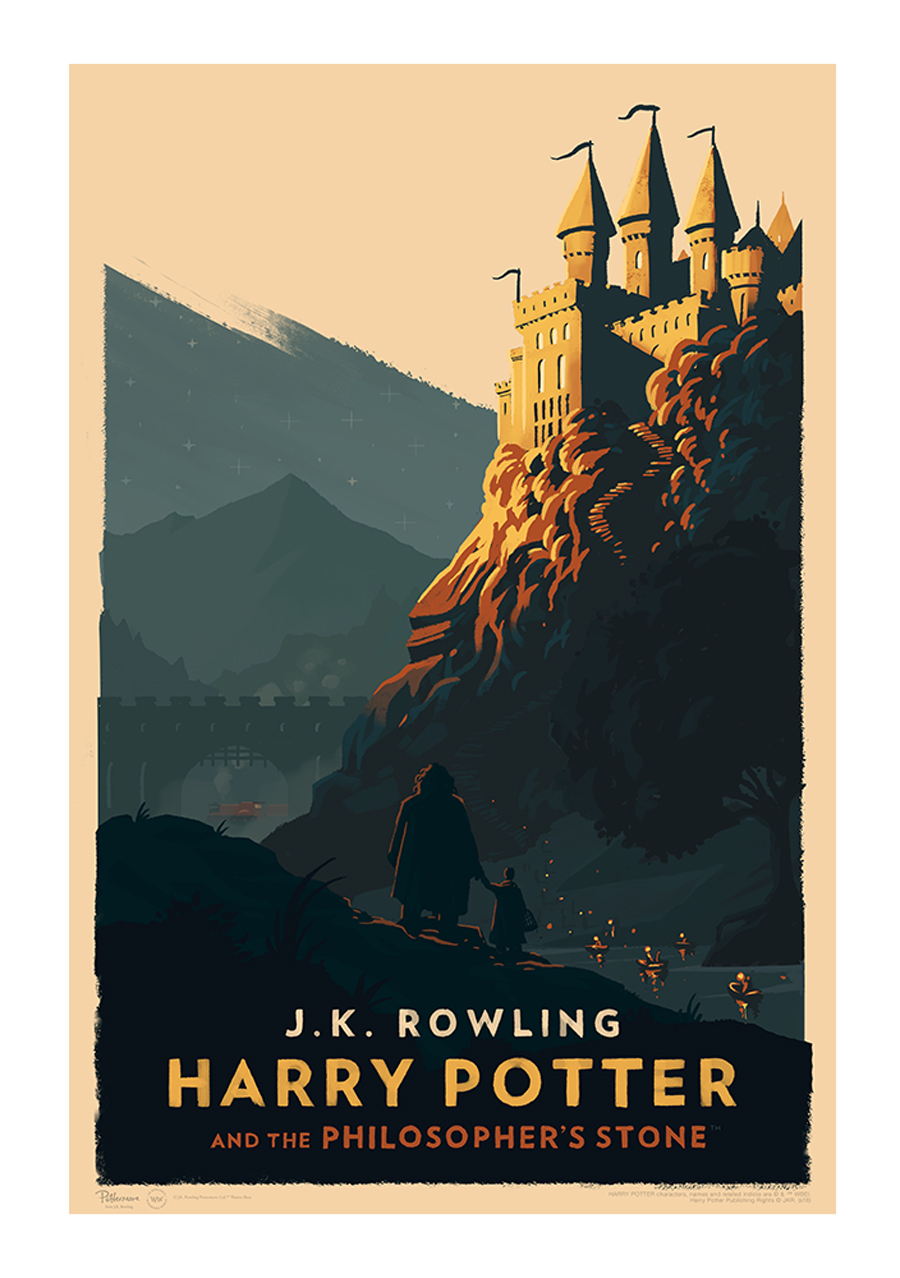 Harry Potter Posters, Olly Moss