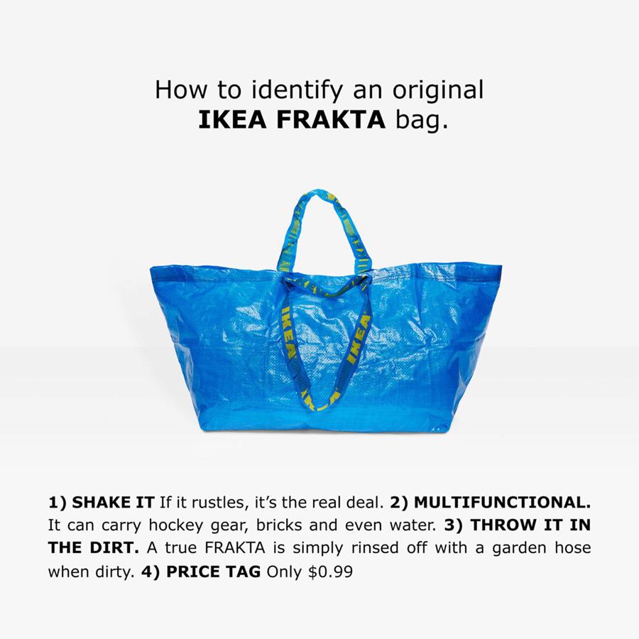 IKEA FRAKTA CAP, หมวกอีเกีย, หมวกจากถุงอิเกีย, อิเกีย, IKEA, IKEA FRAKTA