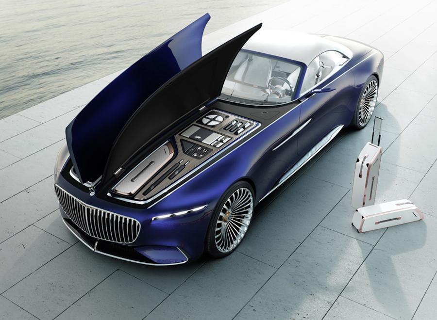 Vision Mercedes-Maybach 6 Cabriolet, Mercedes-Benz, Maybach, รถยนต์, รถยนต์ไฟฟ้า, รถรุ่นใหม่