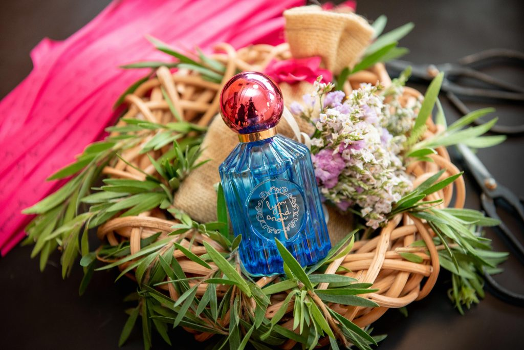 lyn arond first fragrance