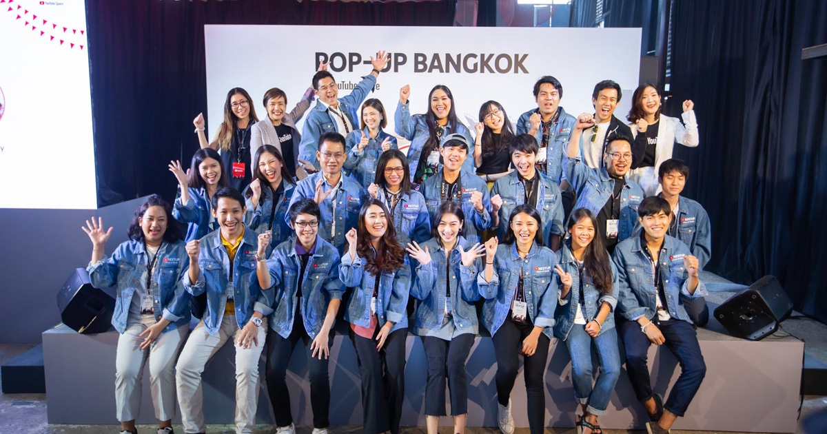 YouTube Pop-Up Space , Youtube, NextUp Thailand, YouTube Creators, Music Sessions, ช่างชุ่ย