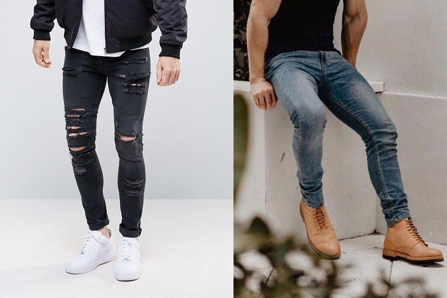 กางเกงยีนส์ผู้ชาย, กางเกงยีนส์แบบพอดีตัว, กางเกงยีนส์, ยีนส์, กางเกง, แต่งตัวผู้ชาย, Fit Jeans, กางเกงสกินนี่, กางเกงสลิม, กางเกงยีนส์ Straight, กางเกงยีนส์ Tapered